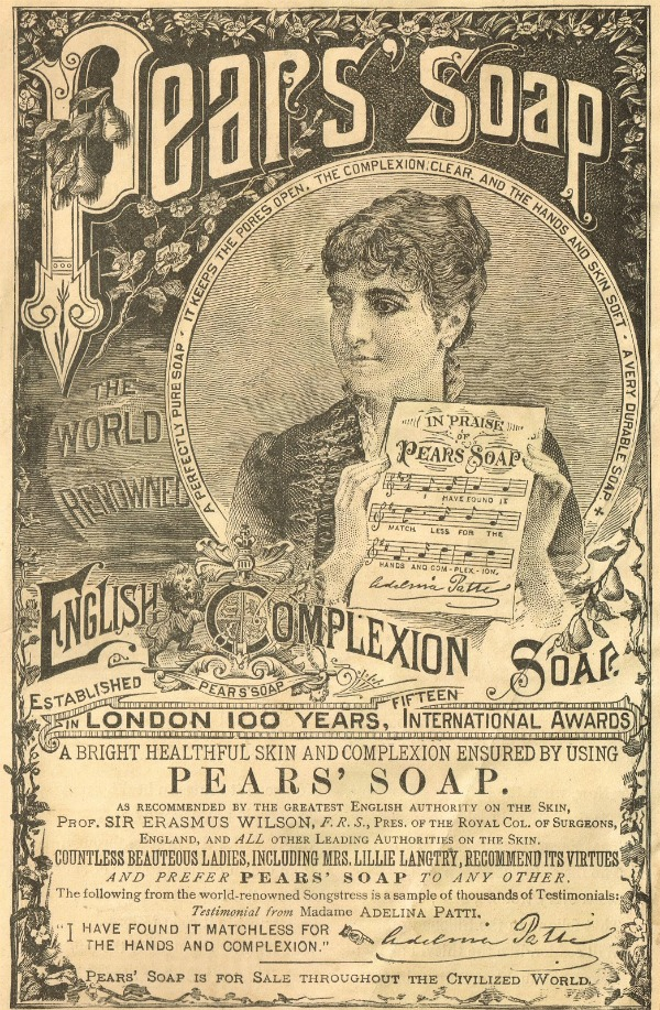 Pears Soap 1800's Advertisement