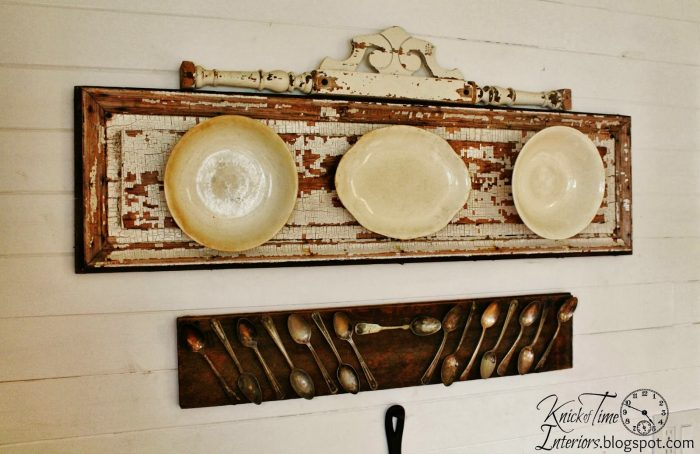 Repurposed Ironstone Plates and Tarnished Silverware | knickoftime.net