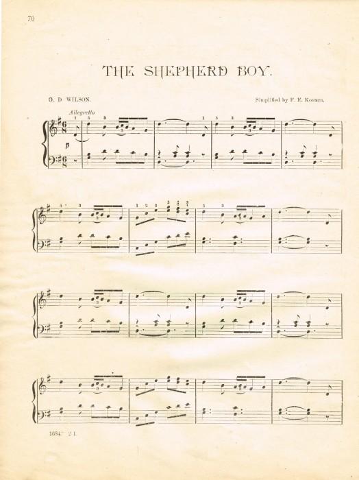 Christmas sheet music printables