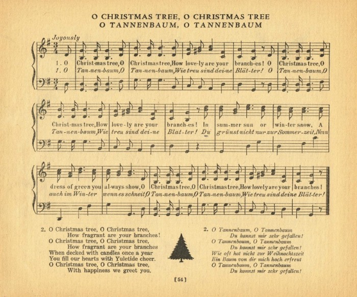 O Christmas Tree, O Tannenbaum - KnickofTime.net