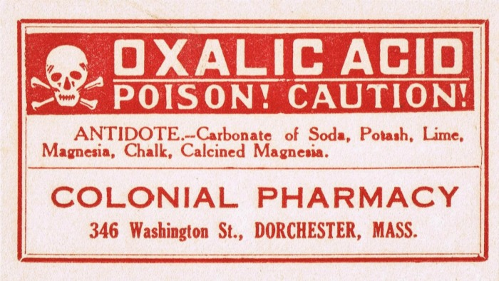 Halloween Decor Apothecary bottle poison label | www.knickoftime.net