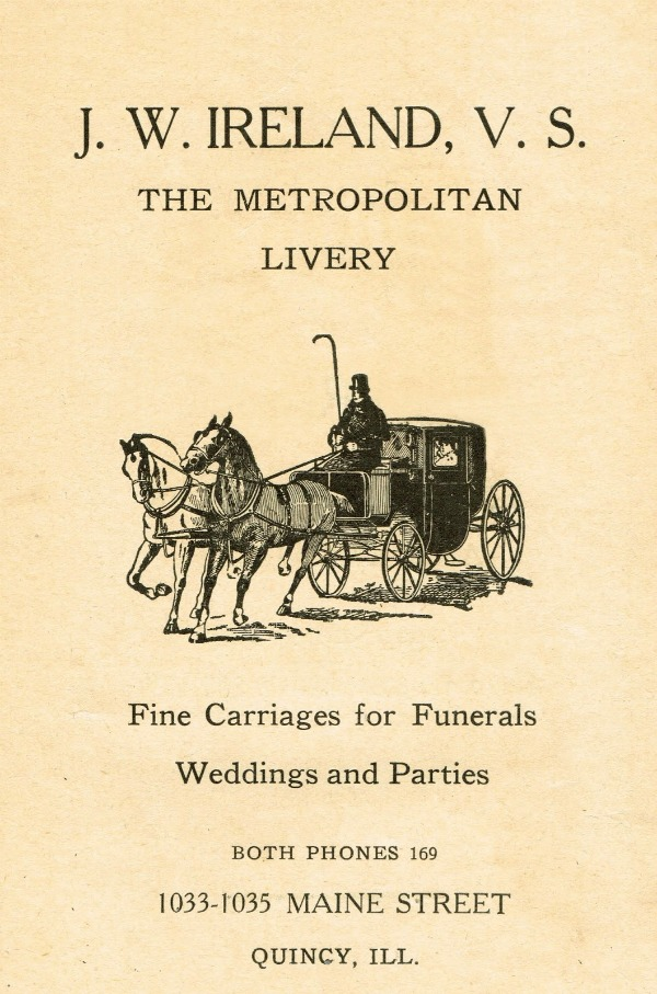 carriage advertisement