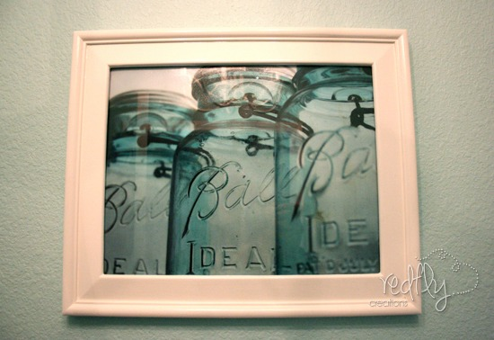 mason jar photography laundry room decor