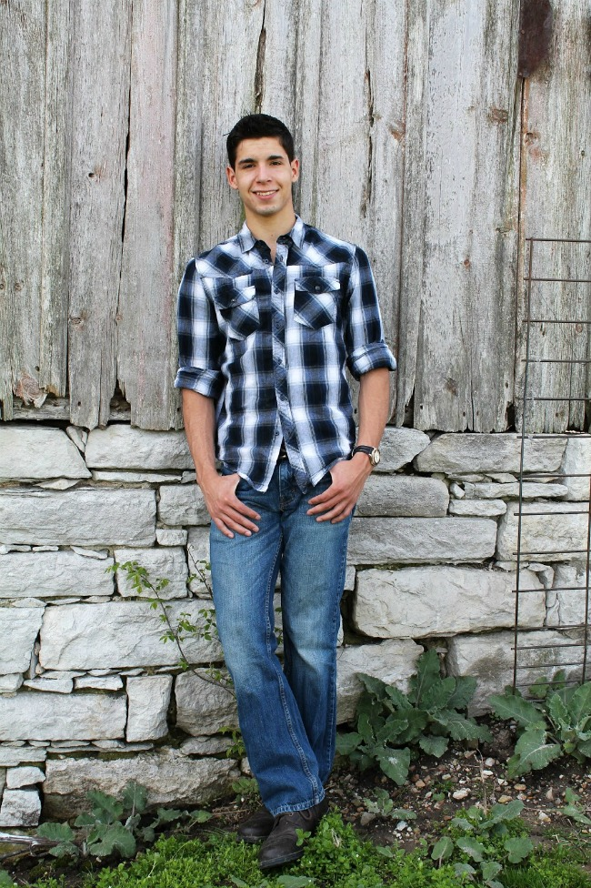 outdoor country senior photos | www.knickoftime.net