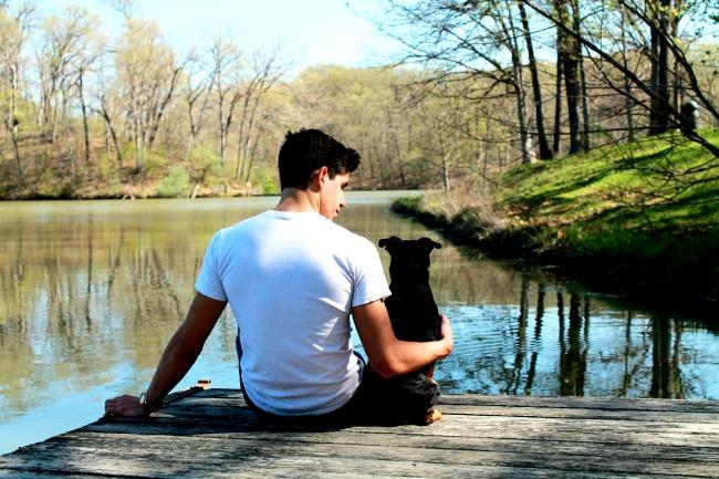 senior graduation photos with dog | www.knickoftime.net