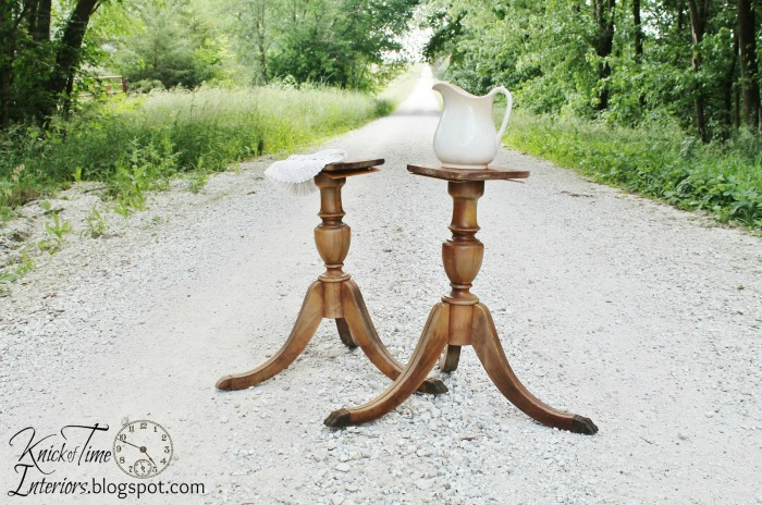 antique table legs