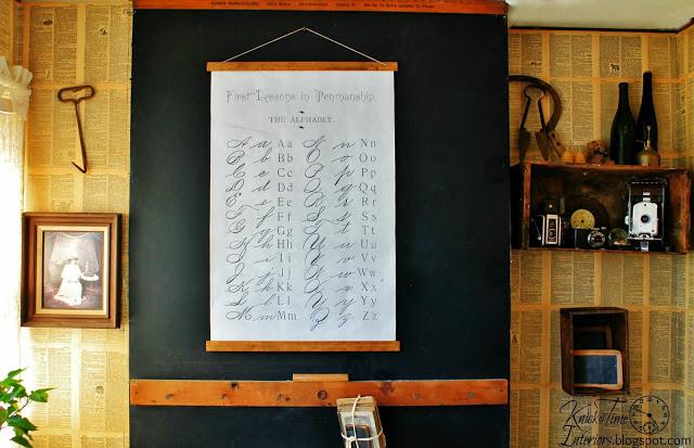 School Wall Chart | knickoftime.net