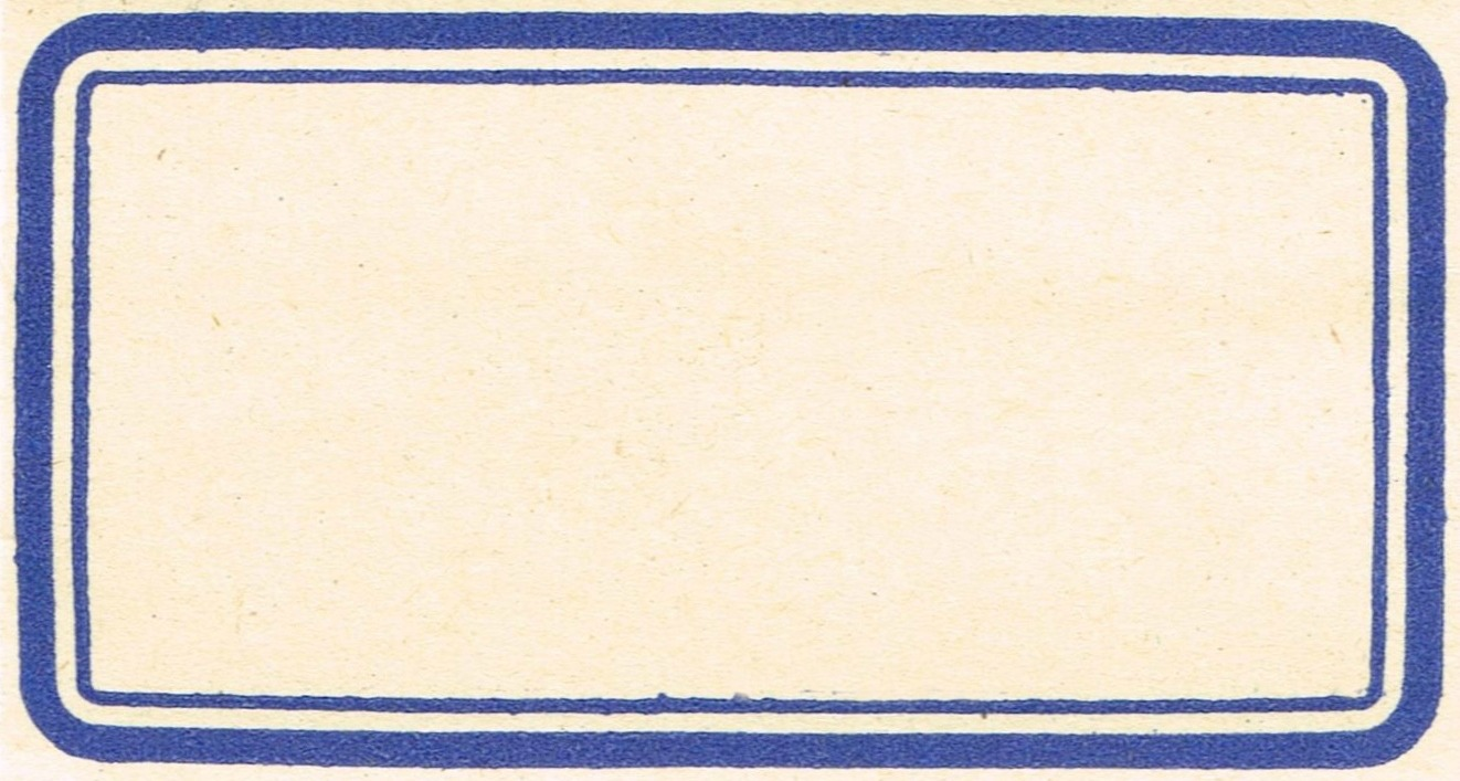 Vintage Blue Labels