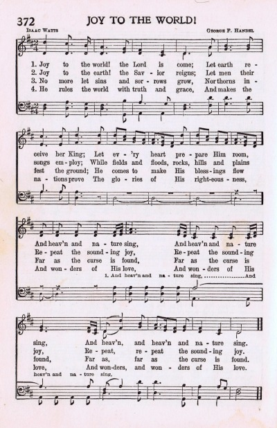 joy to the world antique christmas song page wwwknickoftimenet