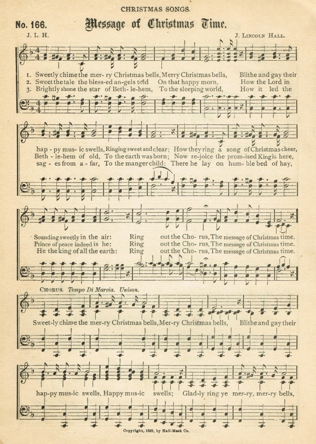 message of christmas time antique christmas song page free printable knickoftimenet