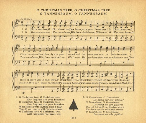 o christmas tree o tannenbaum knickoftimenet - Oh Christmas Tree How Lovely Are Your Branches Lyrics