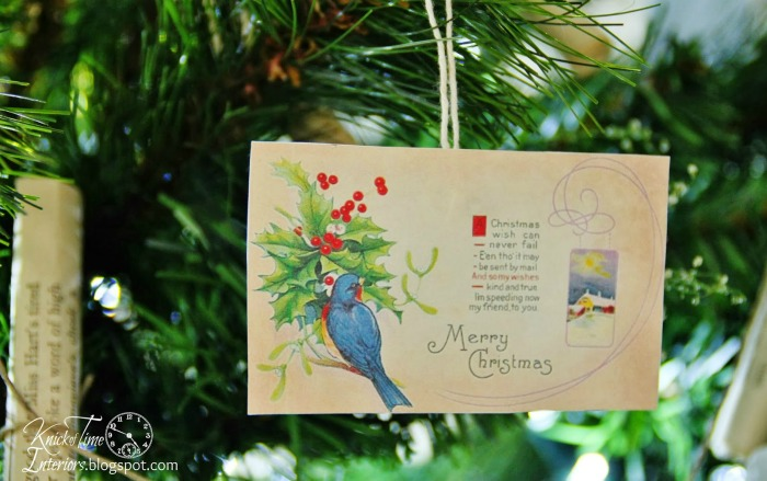 Antique Postcard Christmas Ornaments via Knick of Time | knickoftime.net
