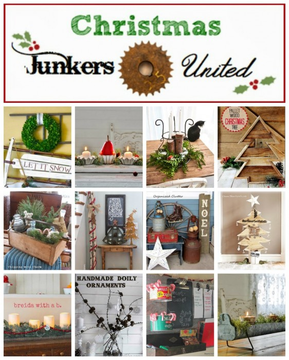 Repurposed Christmas Decor Junkers Unite