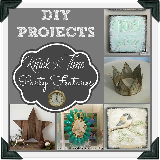 Vintage Inspired Projects features at KickofTime.net