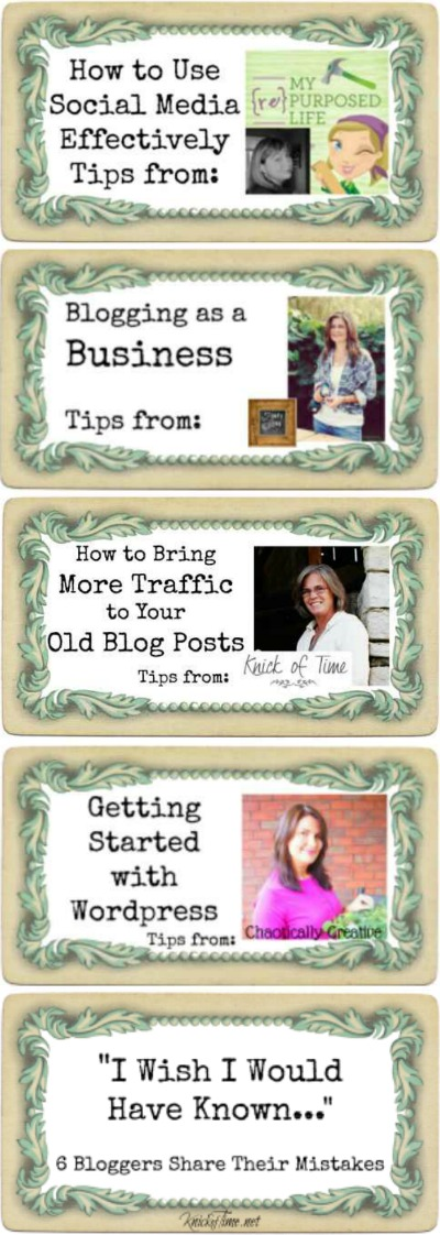 Blogging Tips Series
