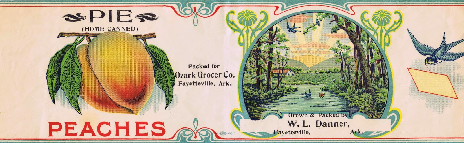 picture about Printable Vintage Labels called Antique Tin Can Fruit Label Printables Knick of Year