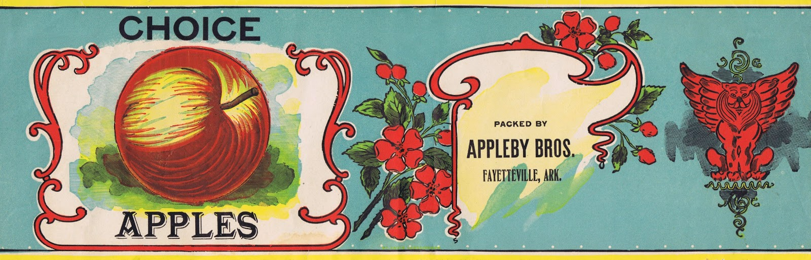 Antique Shipping Apple Fruit Crate Label Printables from Knick of Time