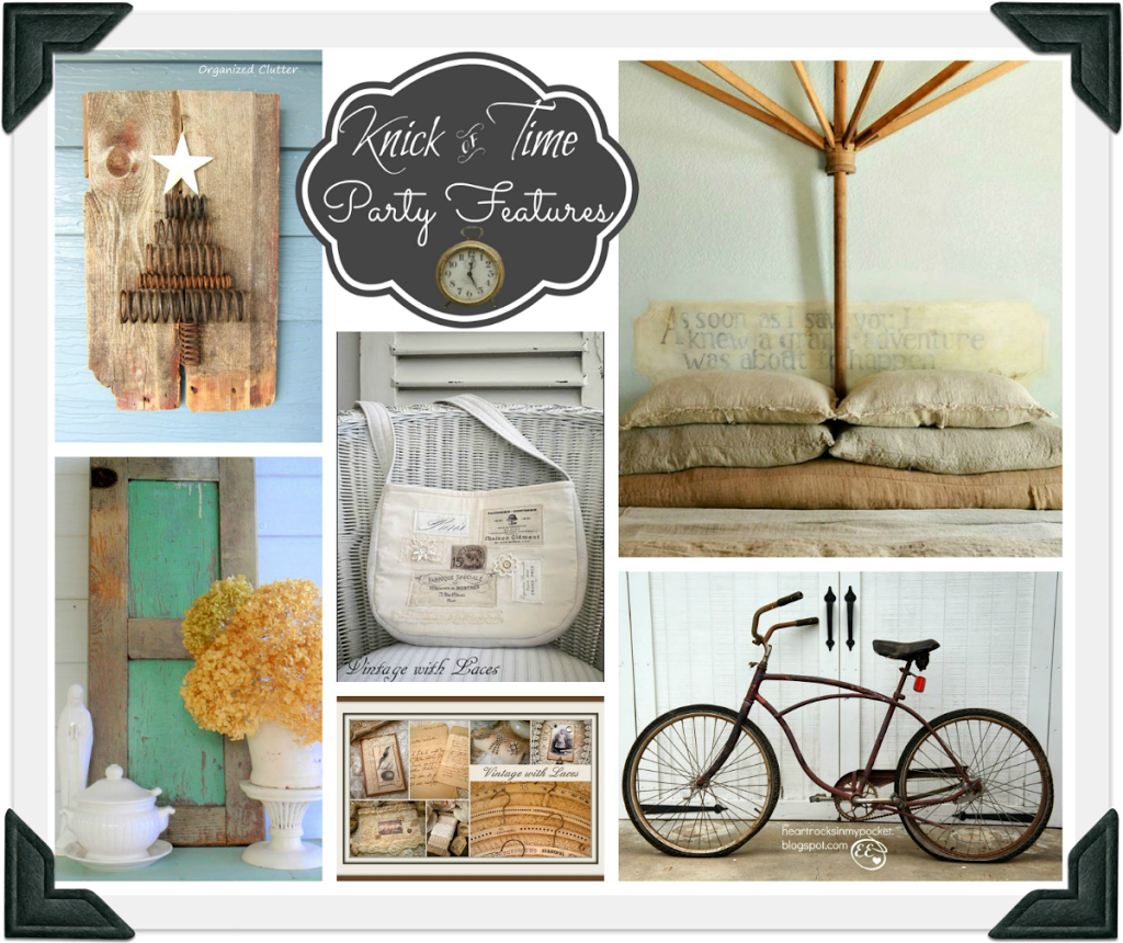 Vintage Decor Inspiration Party - Knick of Time Tuesday ...