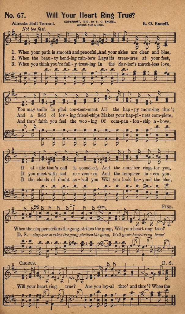 free printable antique music hymn book page will your heart ring true