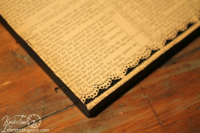 Paper Punch Stencil Border via Knick of Time
