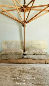 Grain Sack Seed Bag Pillows
