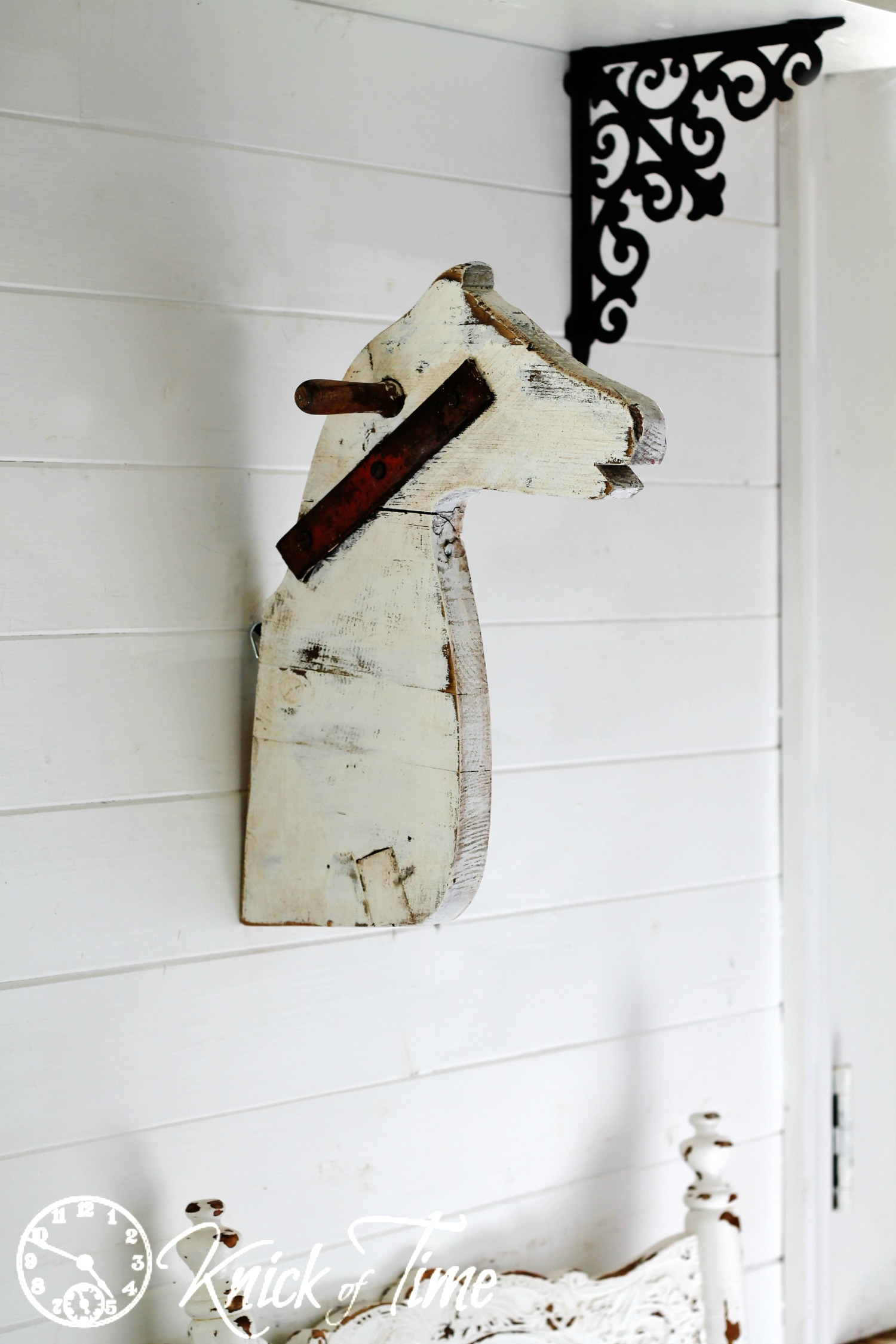 Antique Farmhouse Horse Head Inspired Project by Knick of Time