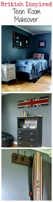 British Teen Room Makeover via Knick of Time