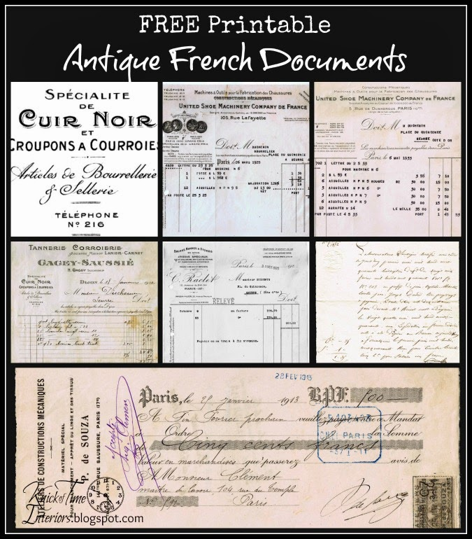 picture regarding Free Printable Graphics identify No cost Printable French Graphics - Entrance and Again of Postcard