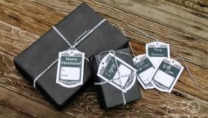 Printable Hang Tag Gift Tags