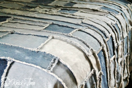 Repurposed Jeans Denim Quilt