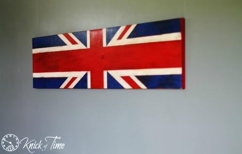Union Jack Flag Sign