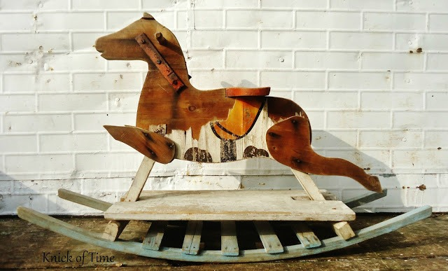 antique rocking horse via Knick of Time