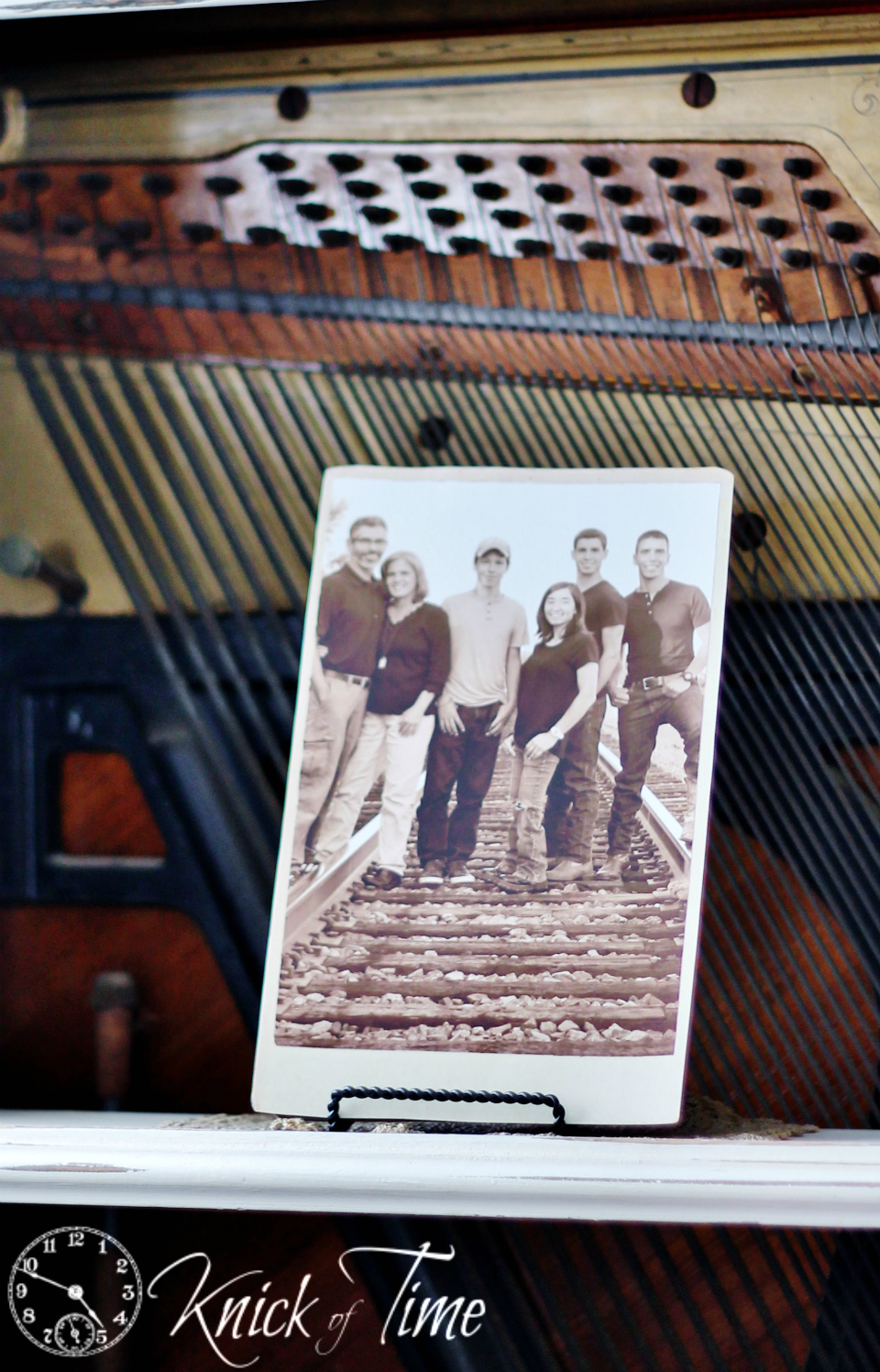 DIY Antique Cabinet Card