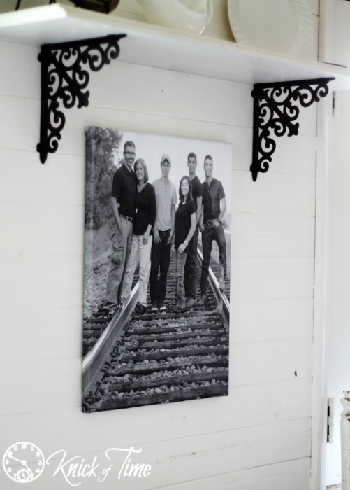 DIY Photo Canvas via Knick of Time