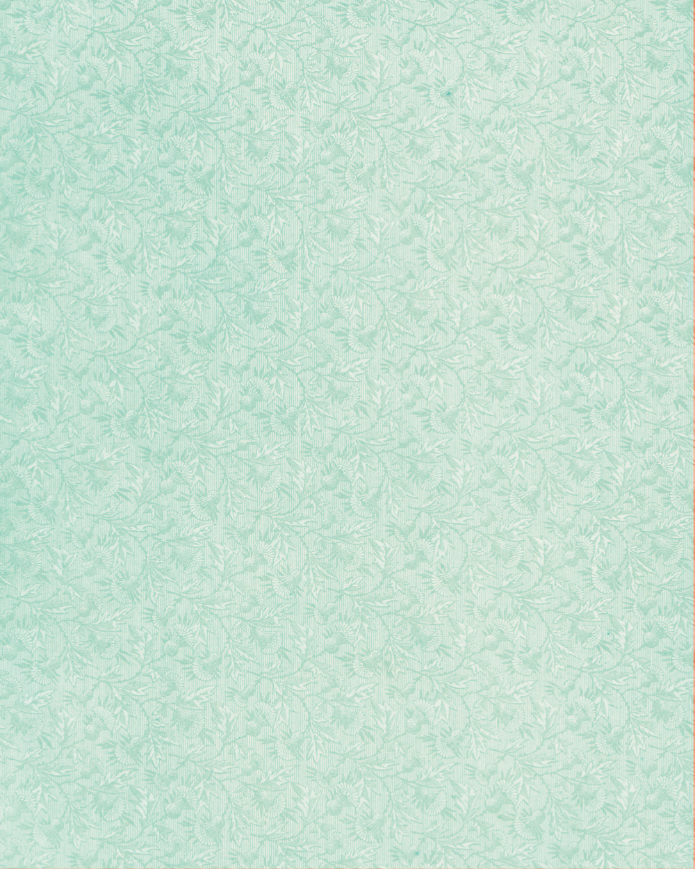 Floral Paper Light Blue