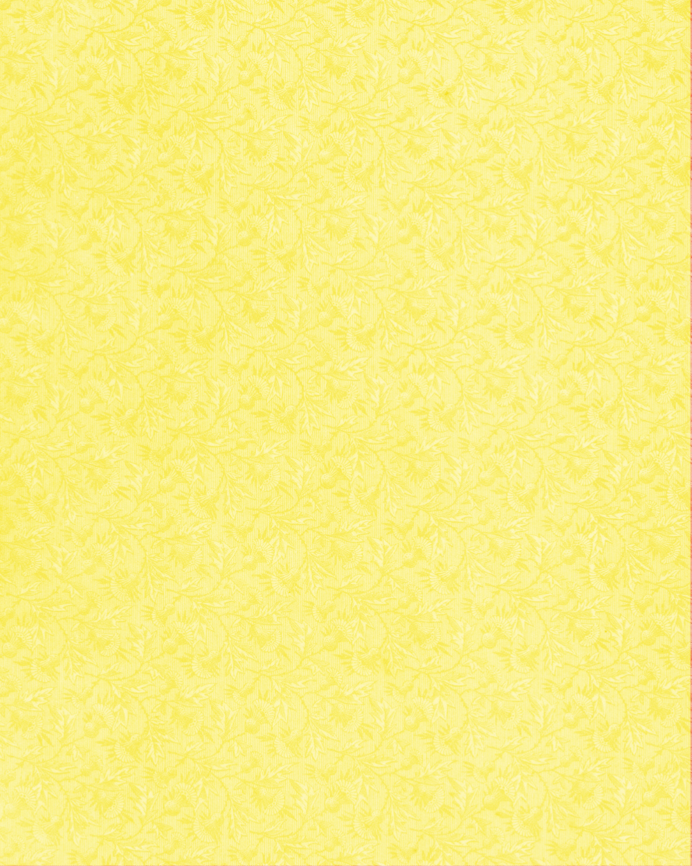 Floral Paper yellow