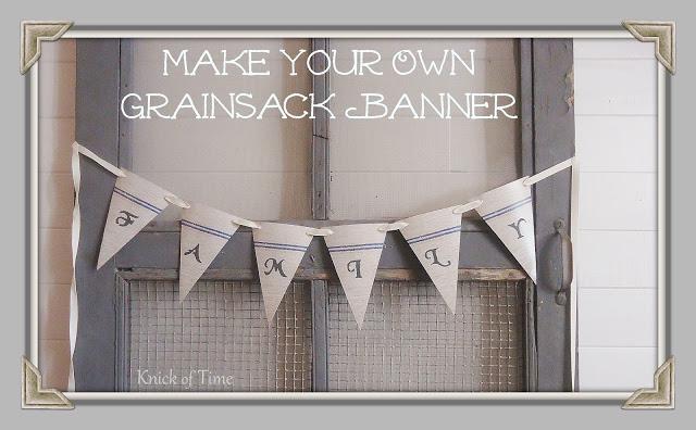 Grain Sack Banner