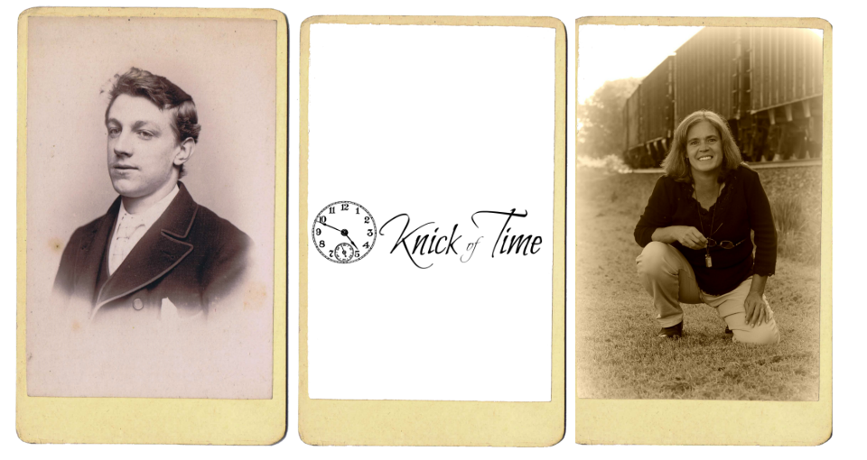 How to make an antique cabinet card