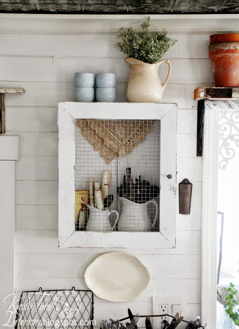 Farmhouse Cupboard Cabinet