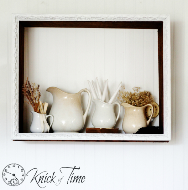 Rustic Wooden Display Shelf by Knick of Time
