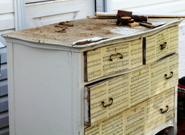 Trashed Dresser