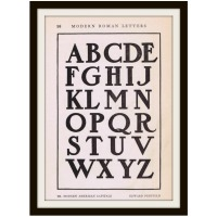 Antique Alphabet Font from early 1900's