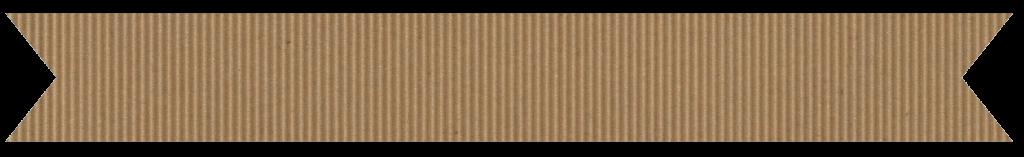 corrugated cardboard banner