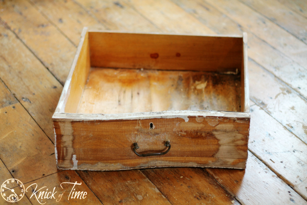 repurpose an old drawer