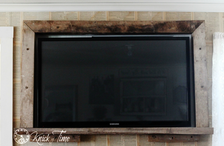 DIY tv frame