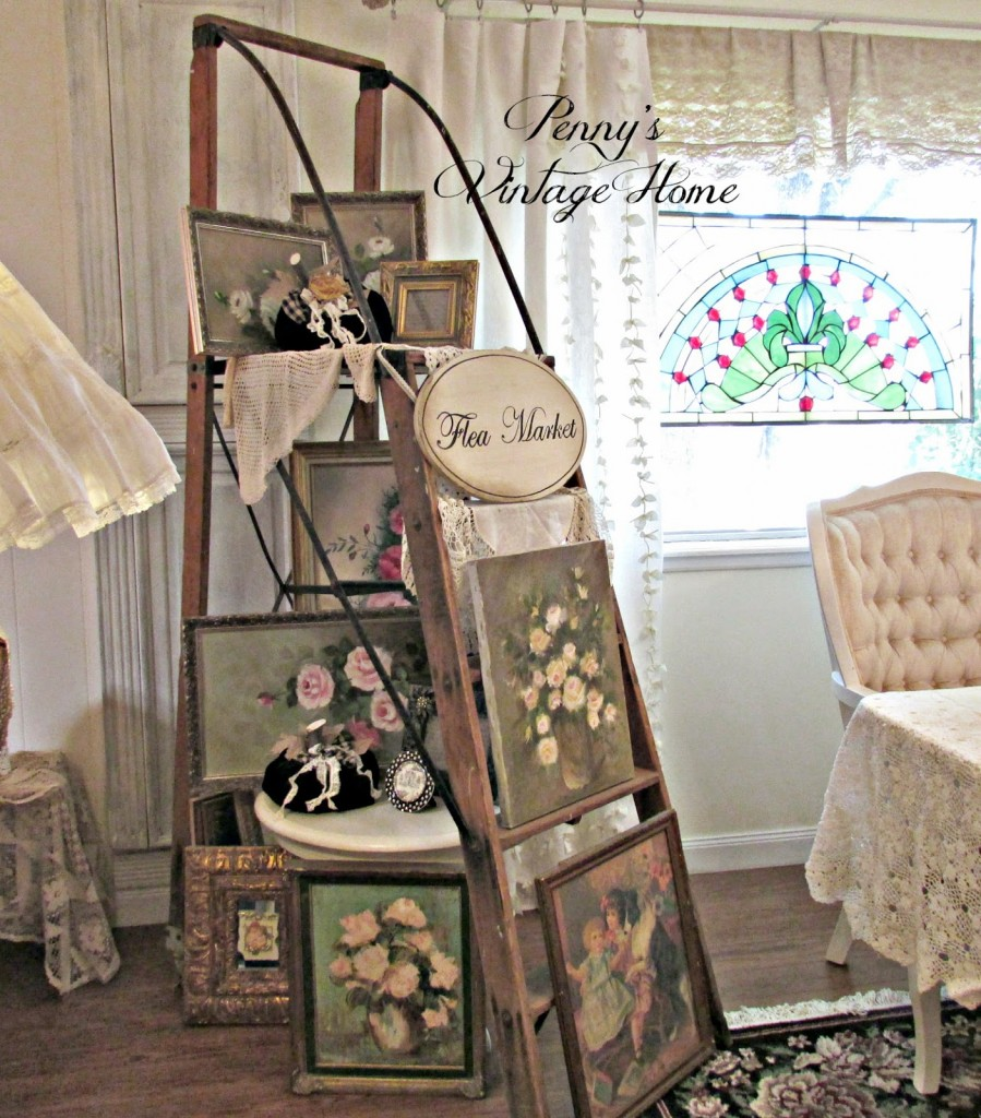 Vintage, Repurposed and Antique Decor Link Party