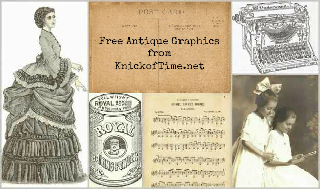 Antique Graphics from Knick of Time