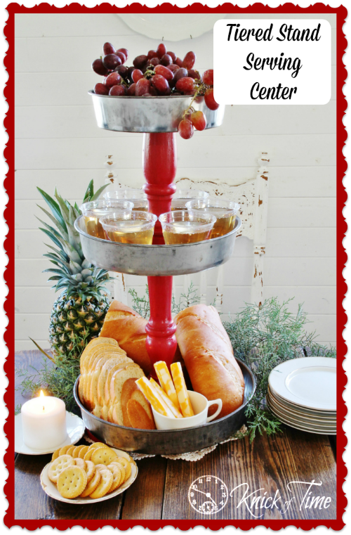 Tiered Stand Serving Center