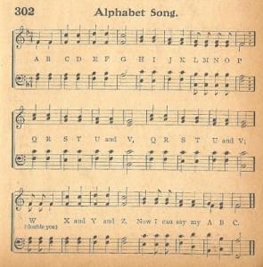 Antique Graphics – ABC Song, Bird Border & a Funny