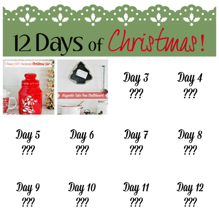 12 Days of Christmas Craft Projects